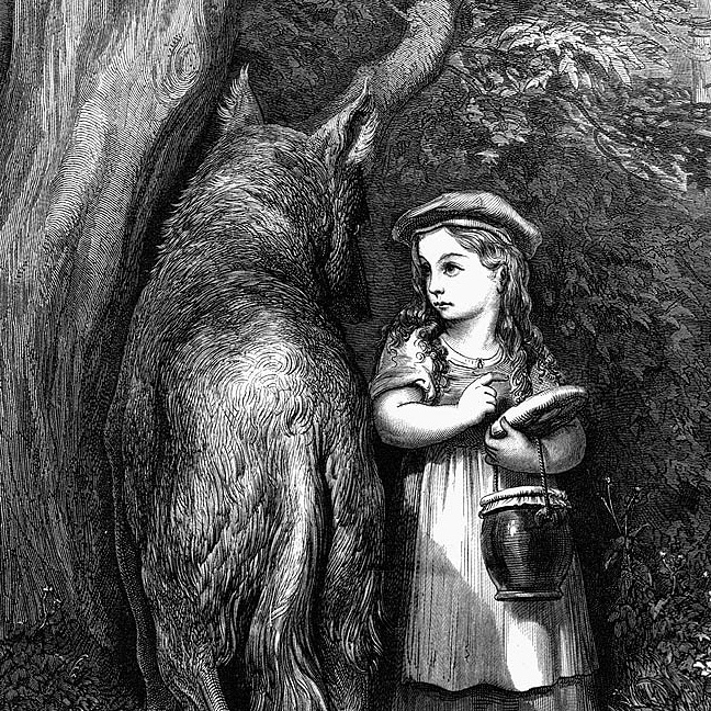 Who's afraid of Little Red Riding Hood?